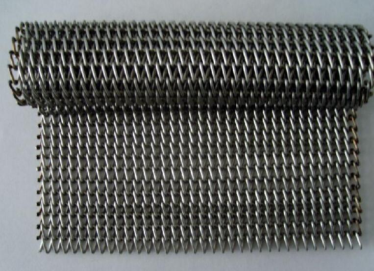 不锈钢网带安装过紧危害以及导致过紧的原因